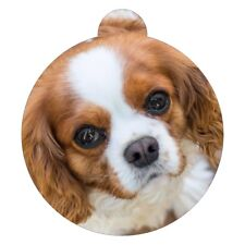 English Toy Spaniel Breed Picture Pet ID tag