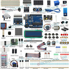 UCTRONICS Ultimate Kit for Arduino UNO R3 Servo Sensor LCD1602 /w Free SD Card