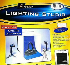 Digital Concepts Portable Lighting Studio PS-101R  16x16x16 Reseller Photo Tools