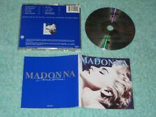 Madonna True Blue early CD (Sire 925 442-2) West Germany PolyGram full-face disc