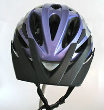 Trek Vapor Youth Road Bike Helmet Purple White with Visor Size U 49 - 57 cm