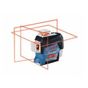 Bosch Linienlaser GLL 3-80 C, Solo Version, Halterung BM 1, L-BOXX