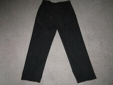 Roger David black Men's pleated worn twice  Size: 34w x 31