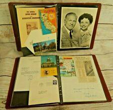 Politics Ephemera Collection 1957 Multiple Governor's Wives Recipes Autographs