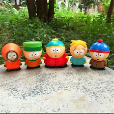 5pcs / set South Park Kyle Butters Stan Cartman Kenny Figures Doll Collection