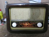 RADIO ANTIGUA SIEMENS RONDO II SUPER 555U - 1954