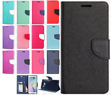 For Samsung Galaxy Note 7 Premium Leather Wallet Pouch Flip Case +Screen Guard
