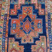 Alter Kordi Orient-Teppich handgeknüpft reine Wolle 430x176 cm datiert Rarität!
