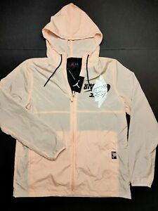 Nike Air Jordan Jumpman Wings Classics Jacket Men's [S , 2XL] Coral BQ8476-664