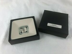 LOVELY LITTLE SQUARE DISH - PIN DISH MADE IN AUSTRALIA BY SUE JAMES - BOXED