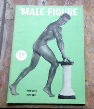 vtg 60's the MALE FIGURE MAGAZINE vol 15 gay interest beefcake man jock strap