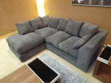 *BRAND NEW* DYLAN LH/RH JUMBO CORNER SOFA  *AVAILABLE IN DIFFERENT COLOURS*