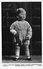 POSTCARD    ROYALTY   The  Hon  George  Lascelles