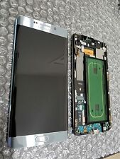 New Samsung Galaxy S6 Edge Plus G928F G928 LCD Frame Silver Digitizer Light SBI
