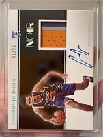 2019-20 NOIR Cameron Johnson Rookie Patch Auto 3 Color /99 RPA Phoenix Suns RC