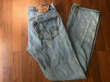 Vintage Levis Red Tab 501 Distressed Jeans with Button Fly - 33x32 (32x32)