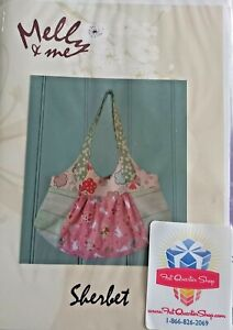 New   Sherbet handbag tote bag sewing pattern