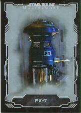 Star Wars Masterwork 2016 Silver Base Card #22 FX-7