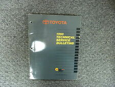1990 Toyota Supra Hatchback Technical Bulletin Shop Service Repair Manual Turbo