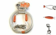 Pet Champion Toy Reflective Tie Out Cable for Dogs Large - 90 lb