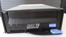 IBM DAT72 USB internal tape drive with cage 49Y9881 49Y9882 EB625R#400