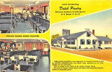 Dutch Pantry Restaurant Multi-Views Between Sunbury & Selinsgrove PA Postcard