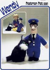 Original Postman Pat & His Cat Toys Knitting Pattern - Wendy 2261
