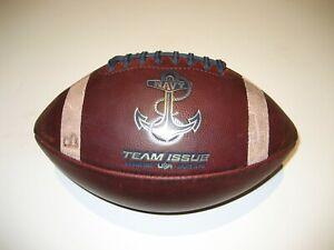 "2019 Navy Midshipmen ""Anchor"" Logo GAME USED Football University"