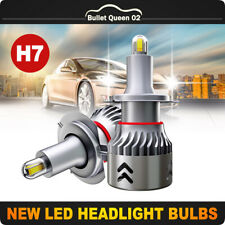 8-Sides H7 1904 LED Headlight  Kits 2800W 280000LM Bulbs High Power 6000K White