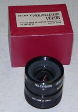 Sony Wide Angle Lens VCL-08