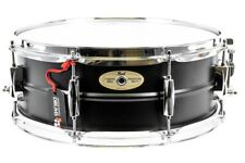 "Pearl Sensitone Limited Edition Steel Snare Drum in Black 14"" X 5.5"""