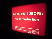 VINTAGE 1954 ..16MM Film...'' Western Europe '' ....400' reel..sound..