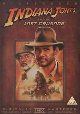 Indiana Jones And The Last Crusade DVD Harrison Ford Original UK Release New R2