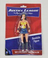 """Justice League Wonder Woman Collectors Bendable Action Figure 5.5"""""""