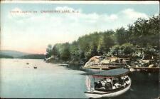 Cranberry Lake NJ Steamer Launch Boat c1910 Postcard