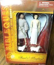 BIBLE QUEST--ANGEL & SHEPHERD FIGURE SET (NEW)