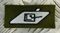 Genuine British Army Issue RTR Royal Tank Regiment Armoured tank Crew Patch NEW
