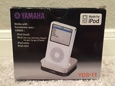 Yamaha YDS-11 Apple iPod Dock for Yamaha Home Theater Receiver - Unused - In Box