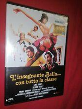 DVD L'INSEGNANTE BALLA CON TUTTA LA CLASSE  SIGILLATO LINO BANFI VITALI CARNIMEO