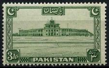 Pakistan 1948-57 SG#31, 3a Green MH #D30816