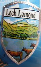 Scotland Loch Lomond new badge mount stocknagel hiking medallion G9750
