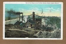 Joplin,MO Missouri, One of the Mines in the Tri-State Mining District used 1950