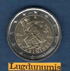 2 euro Commémo Italie 2014  Carabinieri Italia