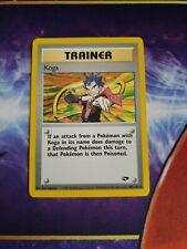Koga 106/132 rare gym heroes pokemon card mint