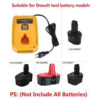 Dewalt Cordless Tools 7.2V-18V Ni-CD/MH Battery Repalce DC9310 2Ah Fast Charger