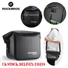 ROCKBROS Bicycle Handlebar Bag 100% Waterproof Front Bag Bike Cycling Panniers
