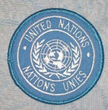 UNITED NATIONS DEPLOYMENT PATCH - AUSTRALIAN ARMY   NEW HOOK & LOOP BACKING