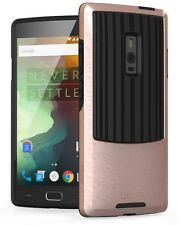 For OnePlus 2 Two [OutCross] Sleek Metallic PC Frame Bumper Slim Dual Layer Case