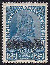 Liechtenstein MER. n. 13 DD post freschi MER. valore € 35 (6327)