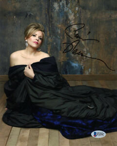RENEE FLEMING SIGNED AUTOGRAPHED 8x10 PHOTO OPERA SOPRANO LEGEND BECKETT BAS